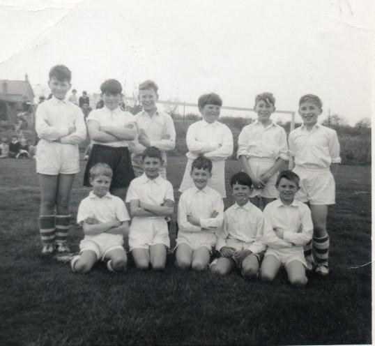 Wilburton School football team.