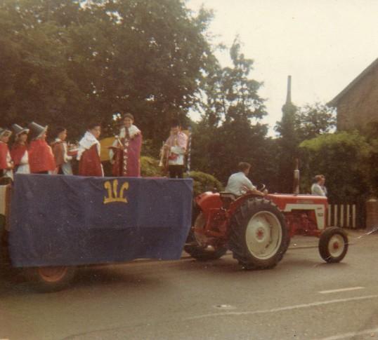 Wilburton feast parade .