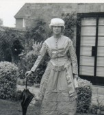 Dolly Ashman of Wilburton dressing up.