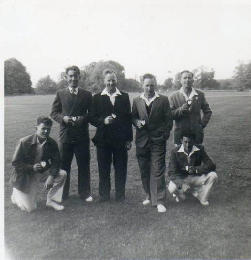 Wilburton cricket team.