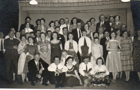 Keith Furness, 21st birthday party at the hall 27th May 1958