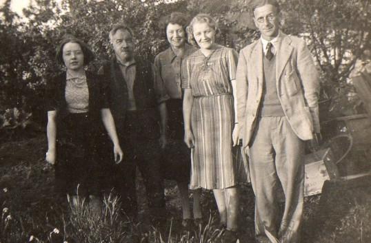 Family group from Wilburton