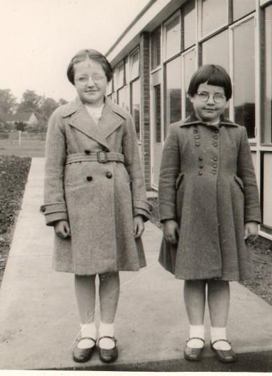 Girls at Wilburton School.