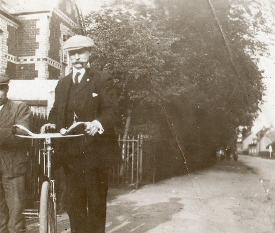 Man in Wilburton street.