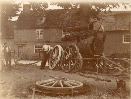 Work at Wilburton Smithy
