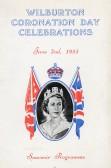 Souvenir programme of Wilburton Coronation Day Celebrations.