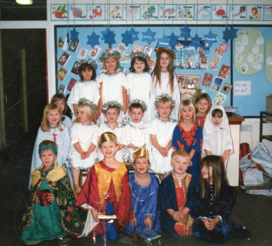 Wilburton School childrens nativity play.