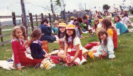 Wilburton school children on an outing