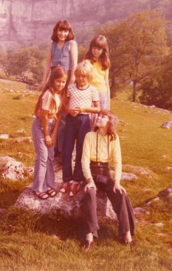 Wilburton school children on  outing