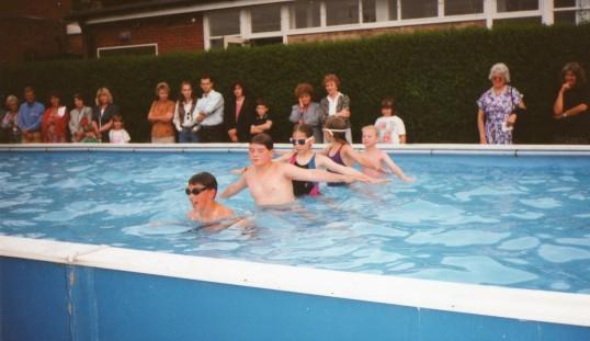 Wilburton school swimming pool