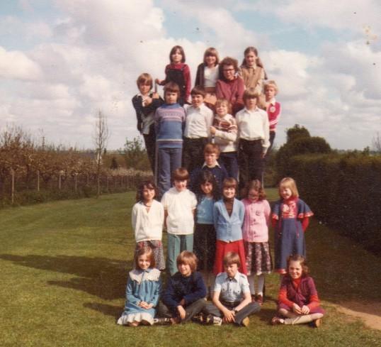 Wilburton school children