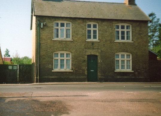 The house that used to be The Bell public house in Wilburton.