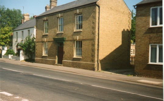 The house that used to be The Royal Oak public house in Wilburton.