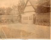 Wilburton school playground showing garden