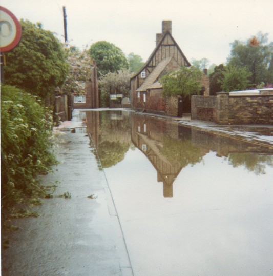 Twentypence road Wilburton, flooded