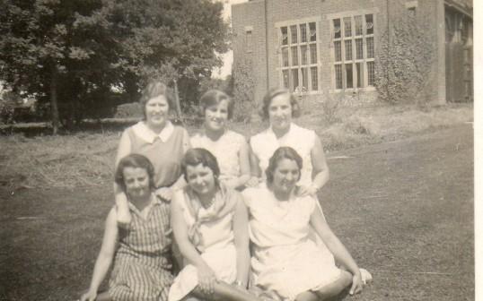 Margery Everitt of Wilburton and friends