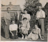 Fitch Everitt and family at Wilburton