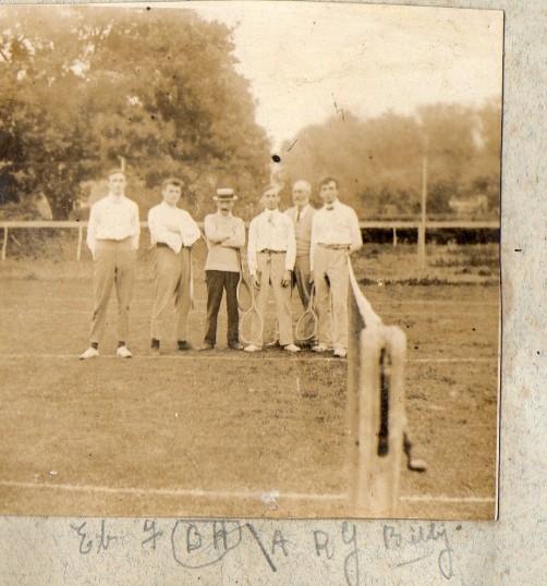 Tennis at Wilburton.