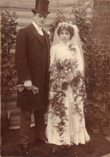 Wedding of Fitch Wm. Everitt and Rosina Marchant