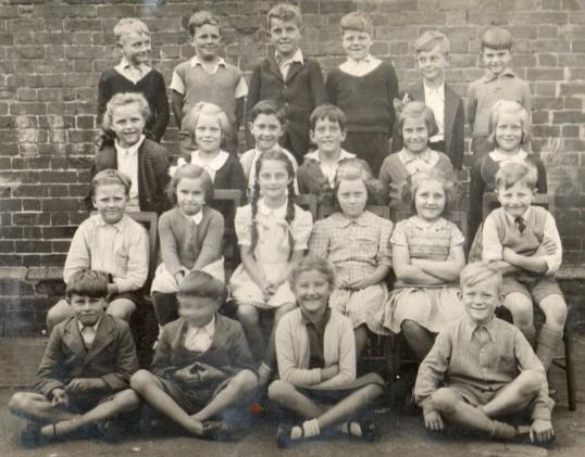 Wilburton school group.