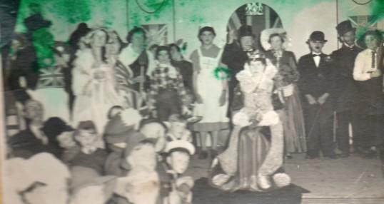 Concert at Wilburton, Coronation day.