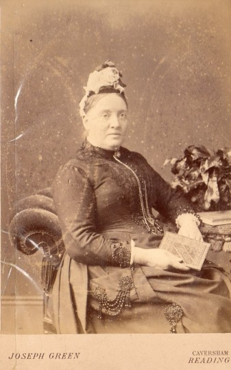 Alma A. Marchant mistress at Wilburton School