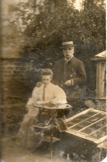 Harry Marchant and his wife Alma, at Wilburton.