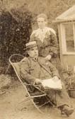 Harry Marchant & wife Alma at Wilburton.