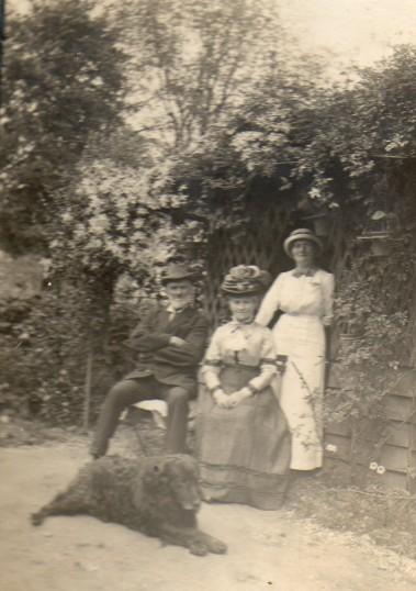 Mr & Mrs William Clayton Everitt at Wilburton.