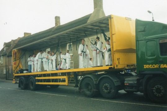 Wilburton feast parade.