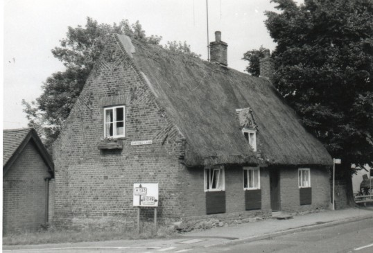 The old forge house Wilburton