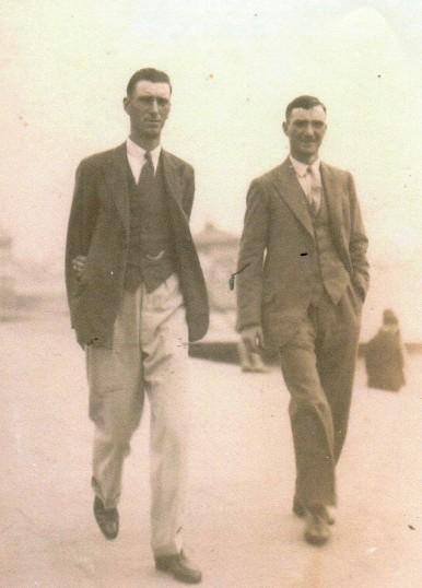 Bertie and Reg Hazel of Wilburton.
