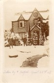 Snow in Wilburton. Date April 23rd 1908