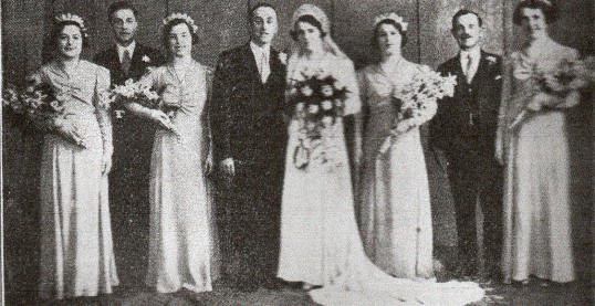 Wedding group from Wilburton and Stretham.