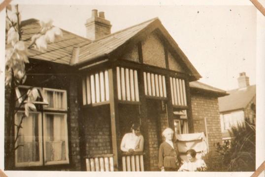 Doris Moxon's bungalow, Wilburton.