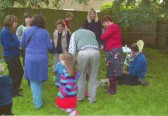 Chapel barbecue at Harvest time Wilburton.