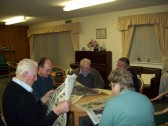 Wilburton archive group searching old papers for any local news.