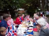 Royal Wedding street party at Wilburton.