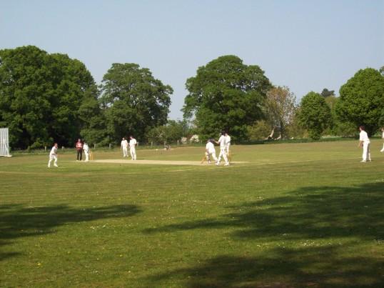Cricket match at Wilburton