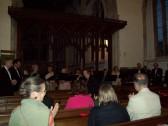 Cadenza visit to Wilburton Church.