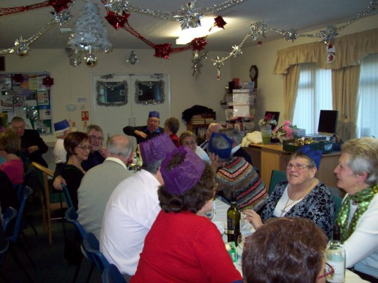 Christmas meal at Bakery Close Wilburton