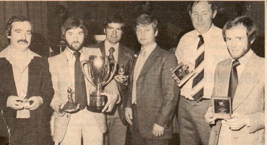 Wilburton Cricket Club awards at  buffet dance
