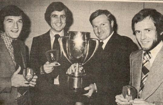 Wilburton cricket club winners at St. Peter's Hall