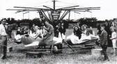 Wilburton fair ground ride at Haddenham playing field.