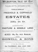 Documenting the sale of land around Wilburton.