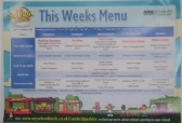 Wilburton Primary School weekly menu