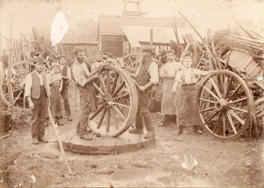 Wilburton Carpenters and Wheel Wrights, High Street.