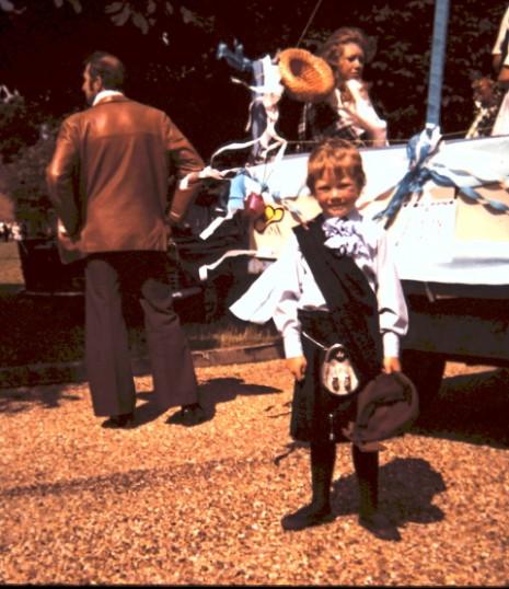 Richard Warren at the Feast Parade