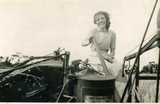 June Seppings on the Binder