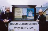 Bishop of Ely Visits Wimblington School 1994